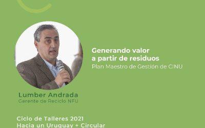Participamos del Ciclo de Talleres: Hacia un Uruguay + Circular organizado por el Ministerio de Ambiente